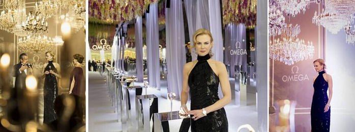 """欧米茄携手妮可·基德曼 于米兰举办""""致敬女性""""盛大庆典"""