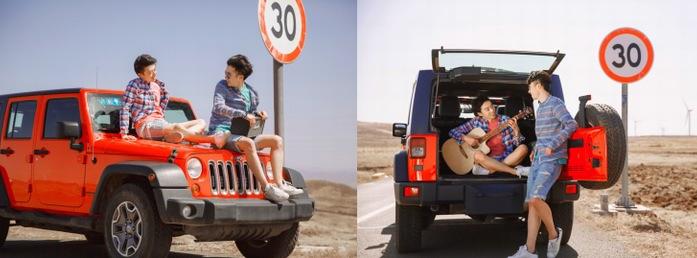 炎夏驾牧马人出游,公路上也能拍出网上博彩娱乐十大网站范儿!
