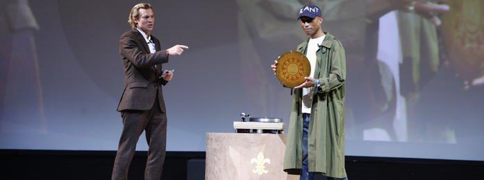 路易十三联袂Pharrell Williams倾力发布《100 YEARS》