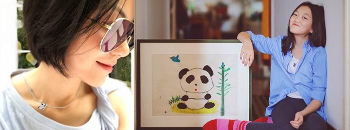 "Ooh Dear亲子网上十大正规赌博网站携手嫣然,打造""熊猫与小鸟""公益项链"