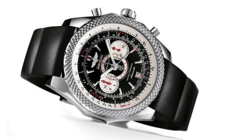 百年灵为宾利推出超跑计时腕表
