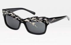 墨镜也玩假面舞会 Chanel精品太阳眼镜