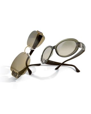 奢华水晶眼镜
