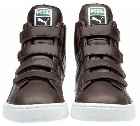 彪马高帮鞋带的系法图解