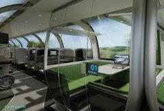 英国设计师创作未来列车  如豪华公寓
