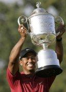 美国高尔夫PGA锦标赛伍兹第四次夺冠