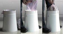"""能""""自动""""换垃圾袋的垃圾桶  获得红点设计大奖"""