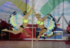 中国钢管舞大赛惹热议 钢管舞健身优势显赫
