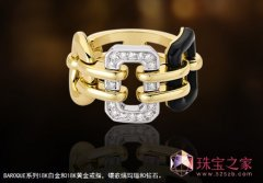 Chanel奢华网上十大正规赌博网站戒指Baroque系列:顶级材质、设计、工艺尽显大牌