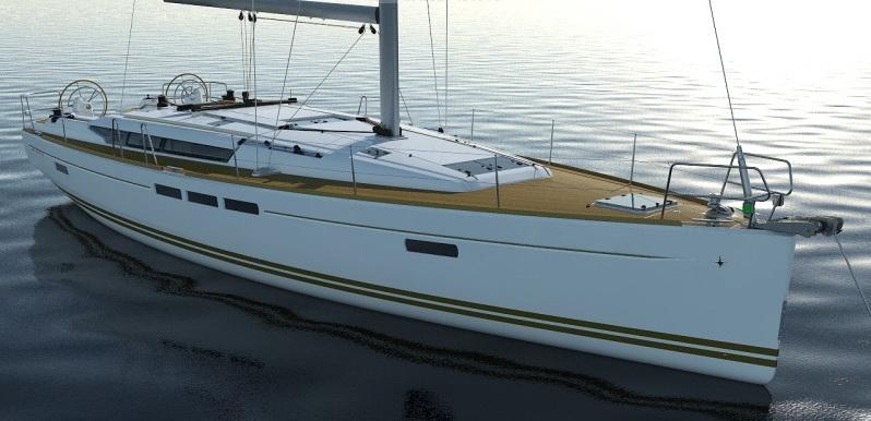 法国亚诺船艇真人博彩娱乐网站(Jeanneau)帆船Sun Odyssey 509