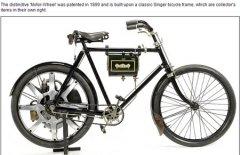 世界最早摩托车将被拍卖 起价2.1万英镑(图)