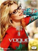 时尚教主Kate Moss代言Vogue Eyewear