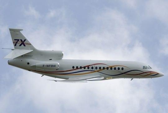 达索猎鹰7X 荣膺最高荣誉亚洲航空大奖