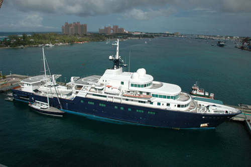 超级游艇排行,2011世界十大超级私人游艇