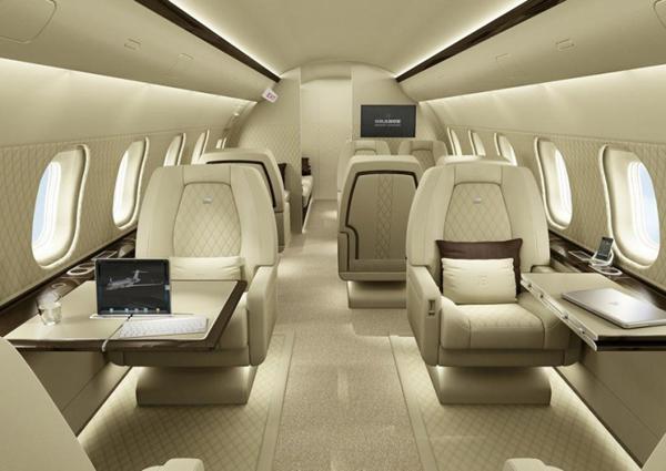 Brabus携手庞巴迪打造私人飞机高端定制服务
